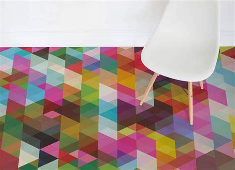 abstract pattern vinyl flooring pop geometric atrafloor