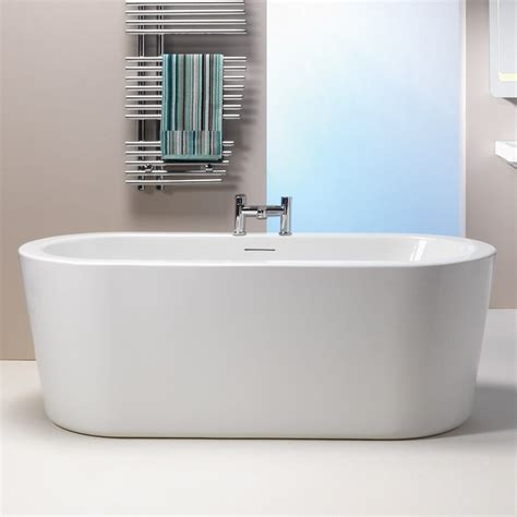 qualitex bathrooms qualitex iconic grosvenor freestanding bath 1700 x
