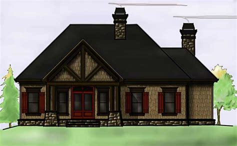 max house plans 2 story rustic lake house plan by max fulbright designs