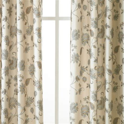 masculine curtains linden street odette grommet top curtain panel jcpenney