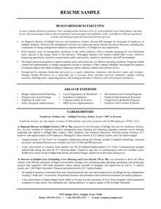 hr resume sle for experienced sle resume for human resources 28 images sle hr cover