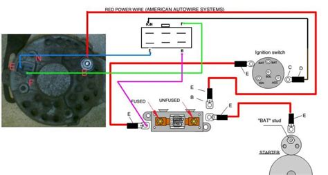 4 wire gm alternator wiring diagram get free image