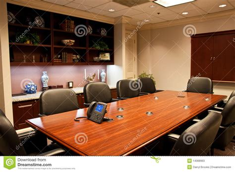 conference room phone formal conference room with ip phone on table stock photos image 14068963