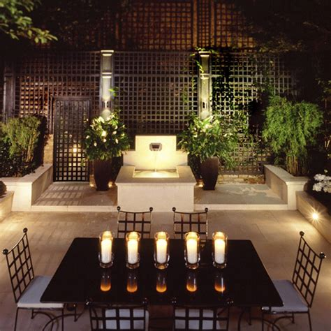 Small Garden Lighting Ideas Add Mood Lighting Small Town Garden Ideas 10 Of The Best Housetohome Co Uk