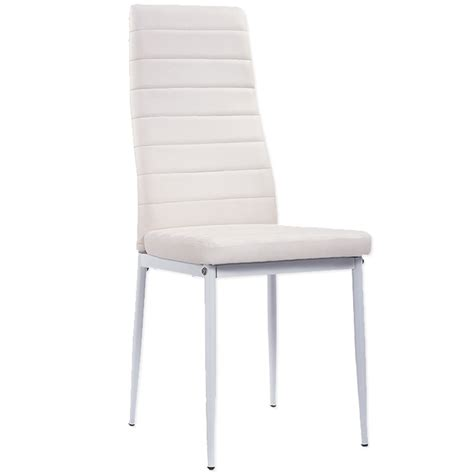 lot de 6 chaises blanches deco in lot de 6 chaises blanches iris lot6chaiseiris
