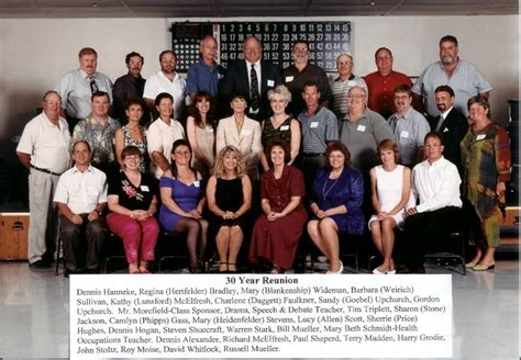 17 Best Images About 30 Year Class Reunion On High School Classes And 30 Years