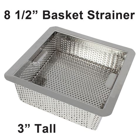 sink basket strainer sizes commercial kitchen floor drain strainer gurus floor