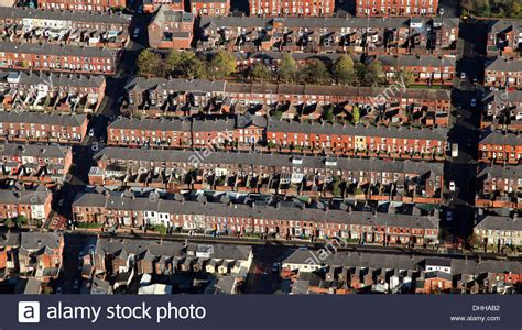 houses to buy in oldham aerial view of back to back housing in oldham manchester stock photo royalty free