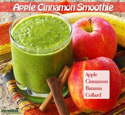 Apple Cinnamon Detox Smoothie by This Smoothie Is 1 Apple 1 Banana 1 2 Teaspoon Cinnamon