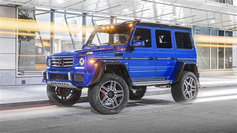 Mercedes G550 Reviews by 2017 Mercedes G550 4x4 Squared Review Motor1