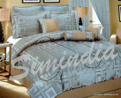 heavy comforter sets king king size bedspread superior luxurious 11 piece