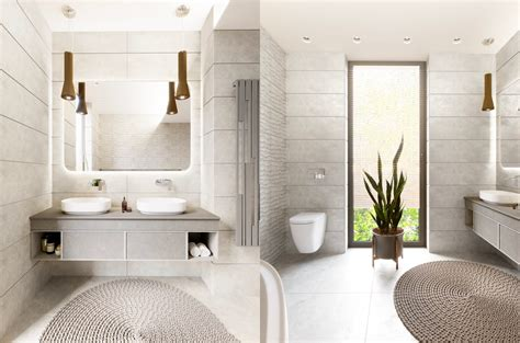 Modern White Bathrooms by 36 Modern Grey White Bathrooms That Relax Mind Soul