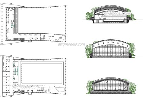 swimming pool detail section swimming pool 2 dwg free cad blocks download