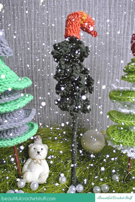 crochet christmas trees free pattern beautiful crochet stuff