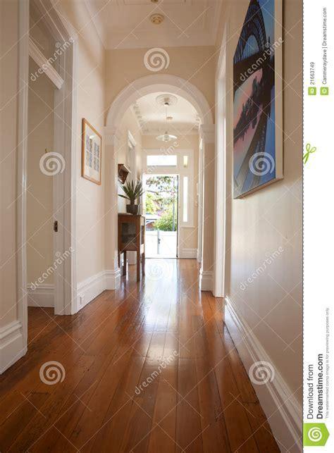 Interior Hallway Entrance Doorway Stock Image   Image