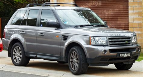 2005 land rover range rover iii pictures information