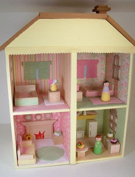 peg doll house doll houses clothespin dolls and dolls on pinterest
