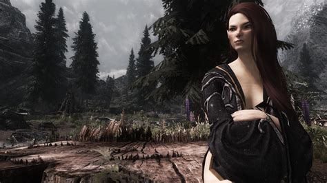 cbbe mod page 4 skyrim mod archmage robe replacer nocturnal robe for cbbe v3 curvy