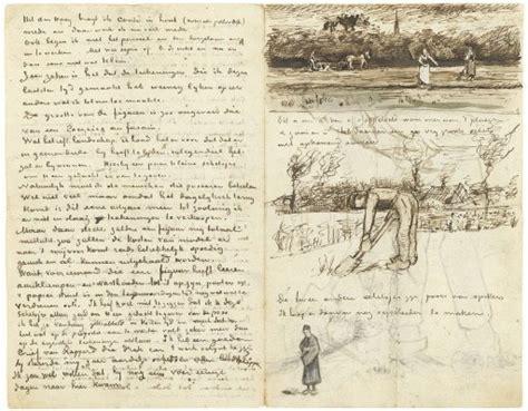 le mulier lettere exposition des lettres de vincent gogh au museum d