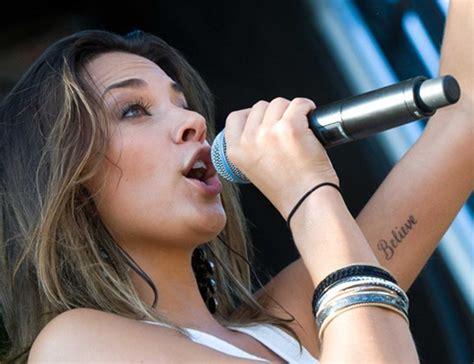 jana kramer s tattoos lettering tattoo on arm pretty