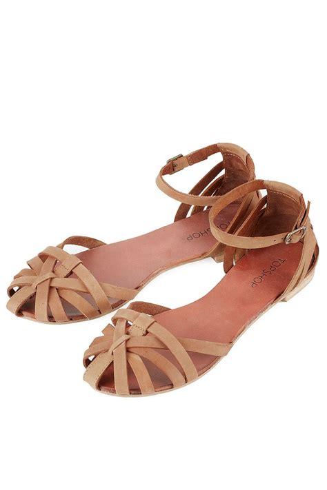 topshop closed toe sandals sandales ferm 233 es avec happy chaussures plates