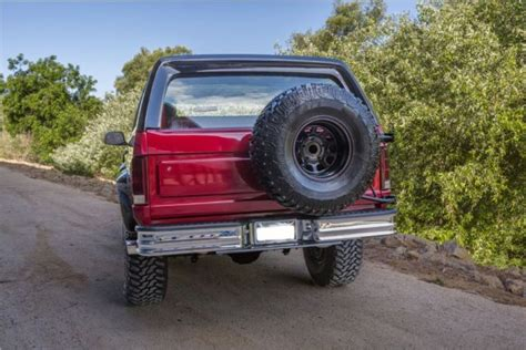 how make cars 1985 ford bronco security system 1985 ford bronco custom 4x4 xlt for sale photos technical specifications description