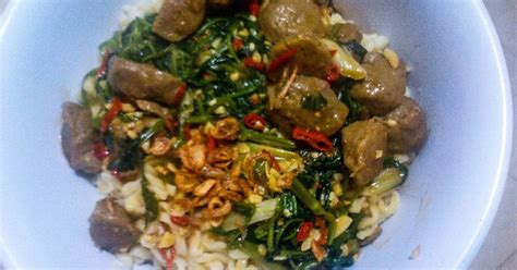 Jofrans Bakso Ayam 20 Pcs 200 Gram resep mie kangkung bakso pedas simpel oleh cookpad