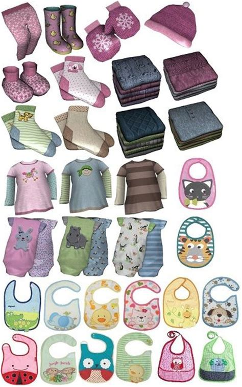 sims 4 cc baby funtioneri my sims 3 blog infant clutter set by suza sims 3 cc