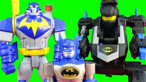 batman robot wars  imaginext transforming batbot