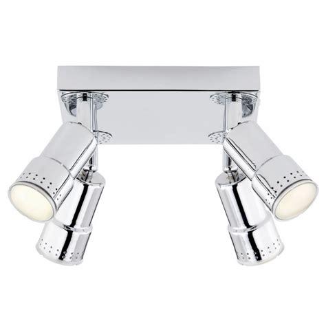 led light fittings tp24 led light fitting bern 4 way led spot plate ceiling