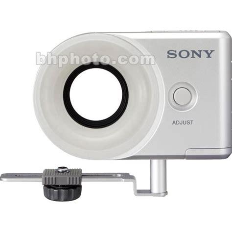 sony hvl le1 handycam camcorder light sony hvl rls ring light hvl rls b h photo video