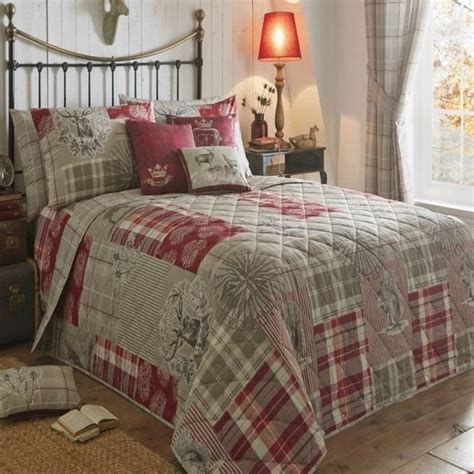 Tatton Patchwork Superior Duvet Cover And Pillowcase Set Patchwork Bedspread In Dreams Drapes Quot Tatton Patchwork Quot Range