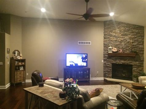 placing furniture in a room corner fireplace living room furniture placing