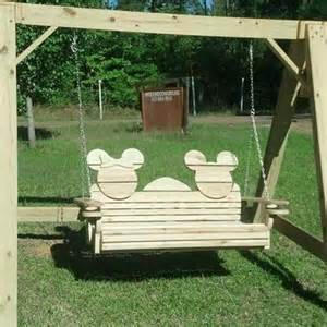 minnie mouse swing minnie mickey mouse wooden outdoor swing want need