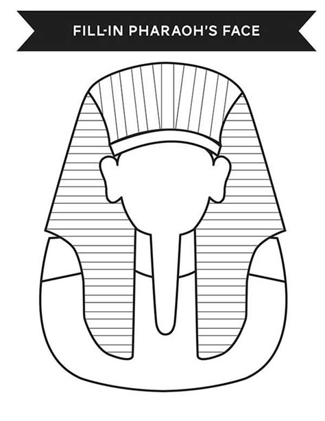 printable egyptian mask ancient egypt print your face in ancient egypt pharaoh