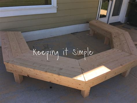diy fire pit benches diy fire pit bench with step by step insructions keeping