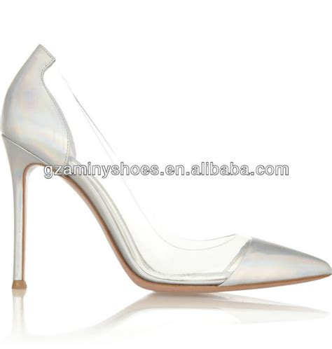 Pointy Toe High Heel Pumps clear plastic pointy toe high heel pumps buy thick heel