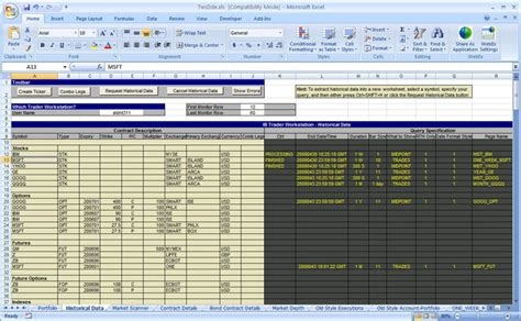 Calendar Api Php Exle Getting Started With The Tws Dde For Excel Api Webinar