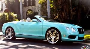 Bentley Convertible Baby Blue Blue Bentley Convertible Wheels