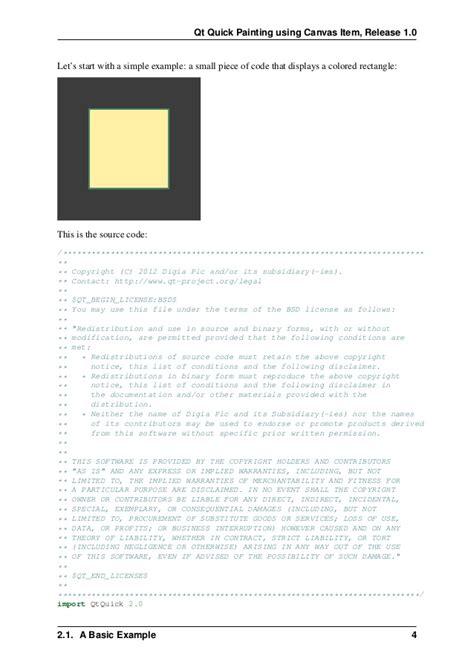 qt html5 tutorial qt quick qml and canvas tutorial