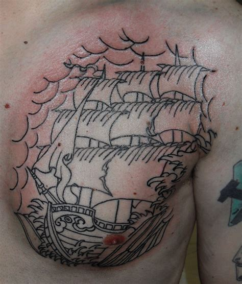 tattoo old school pirate tattoo ship pirate by oldschooladorned on deviantart