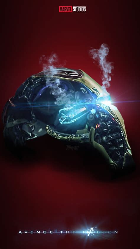avengers endgame iron man helmet iphone wallpaper iphone