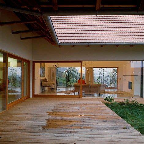 modern u shaped house plans u shaped modern house rural landscape context design home pinterest shapes farm