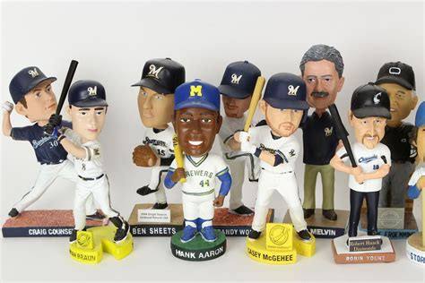 Bobblehead Giveaways - predicting the 2017 brewers all fan bobblehead giveaways