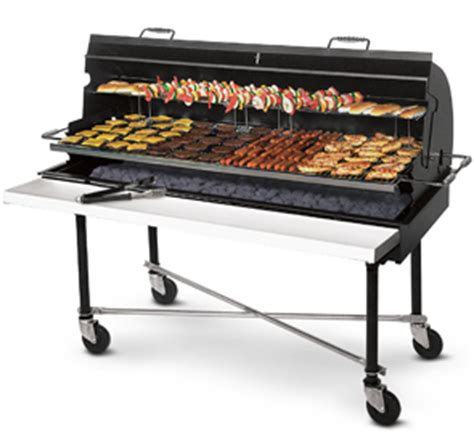 Backyard Grill Won T Light Porta Grill 174 Commercial Barbecue Grill With