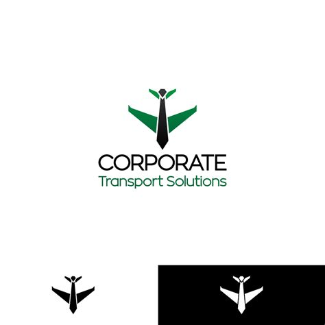 Corporate Transport Services by Serious Business Service Logo Design For