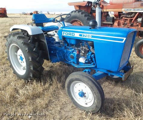 ford 1700 tractor ag equipment auction in by purple wave inc