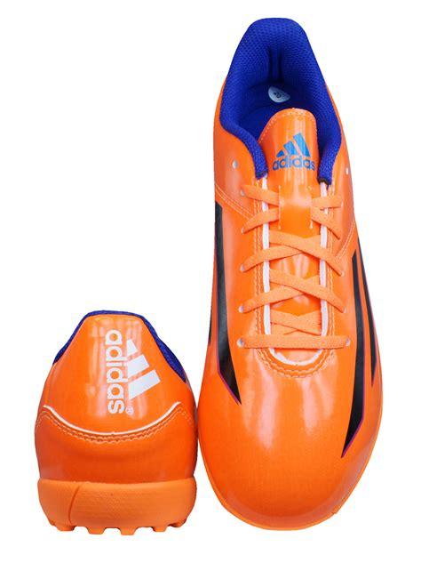 adidas  trx tf  boys football trainers boots orange