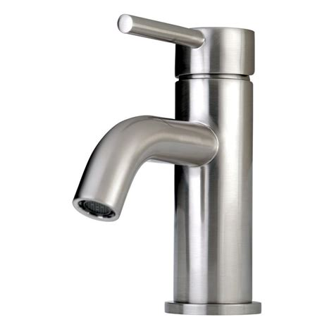 contemporary faucets bathroom kingston brass contemporary single hole 1 handle high arc