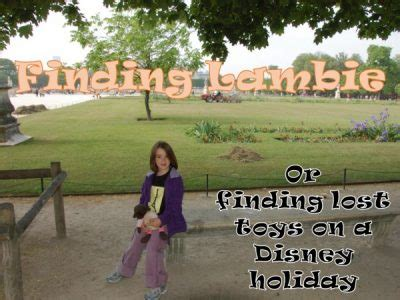 finding lambie or finding lost toys on a disney holiday